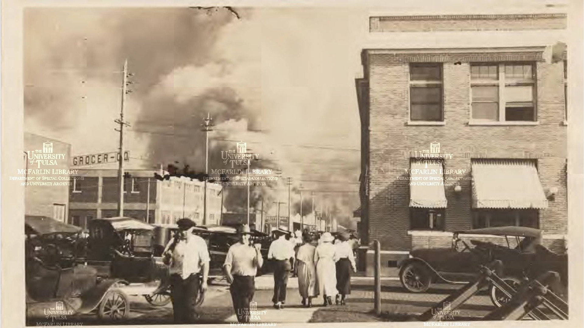 Investigators are trying to determine if two possible mass grave sites recently uncovered are linked to the 1921 Tulsa race riots. (Credit: McFarlin Library, University of Tulsa)