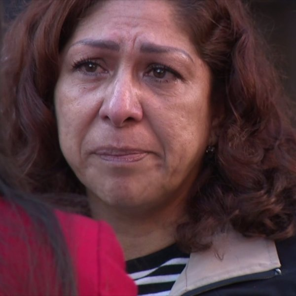 Rocio Rebollar Gomez, the mother of an Army officer, is seen in San Diego on Jan. 2, 2019. (Credit: KSWB)