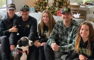 The Altobelli family — from left Keri, John, Lexi, J.J. and Alyssa—is seen in an undated photo posted to a GoFundMe page.