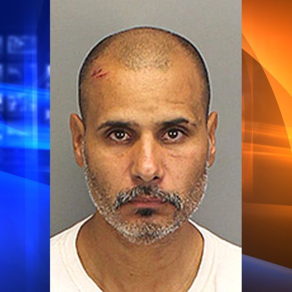 Angel Garcia arrested on Jan. 15, 2020. (Credit: Riverside County Sheriff's Department).