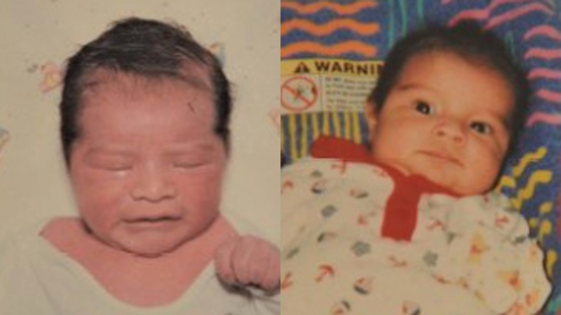 Two children of Paul Allen Perez, who is suspected of killing them, are seen in photos released by the Yolo County Sheriff's Office.