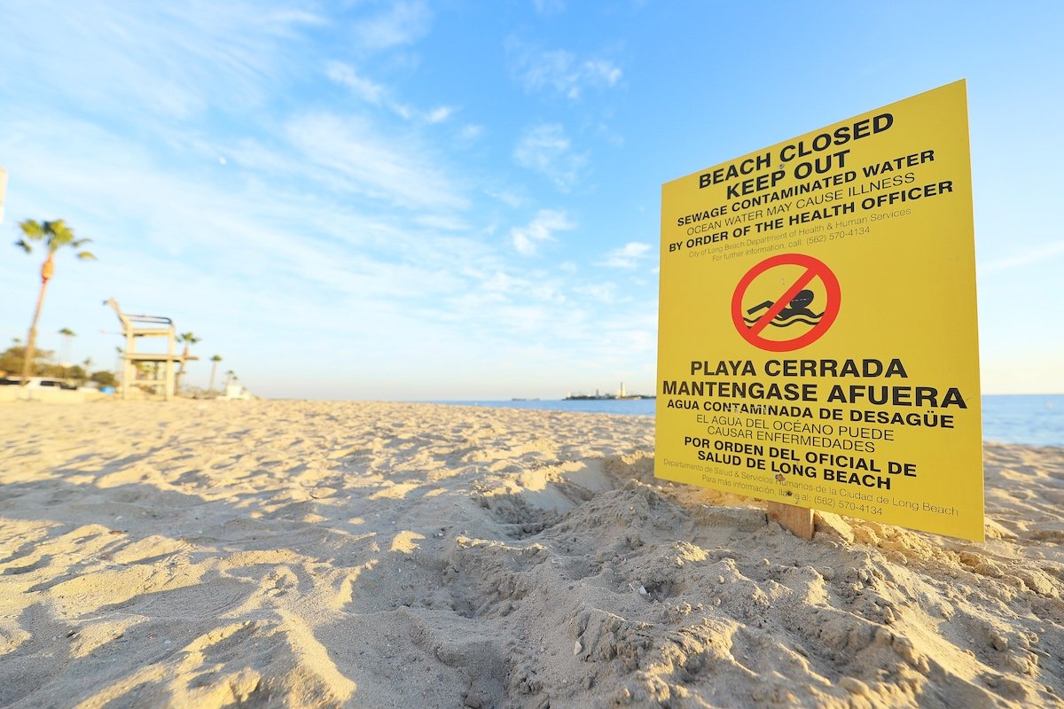 Grease Blockage Leads To 11 000 Gallon Sewage Spill Prompts Closure Of All Beaches In Long Beach Ktla