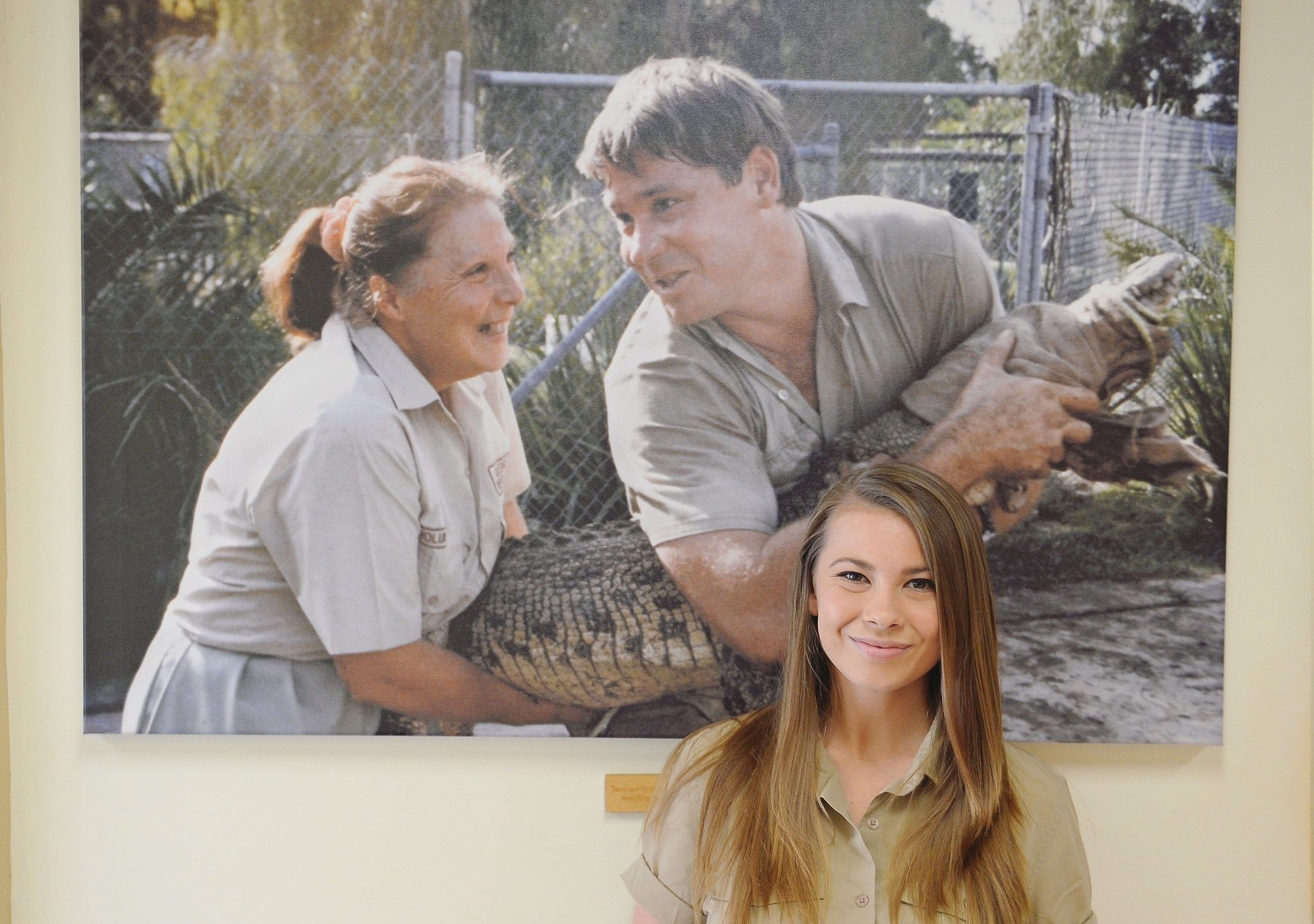 Bindi Irwin appears in a photo she posted on Twitter on Jan. 2, 2020 describing the Australia Zoo's efforts in helping the wildlife affected by wildfires.