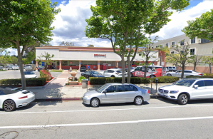 A Google Maps image shows the CVS Pharmacy on 11941 San Vincente Blvd. in Brentwood.