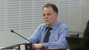Charles Merritt looks on during his sentencing on Jan. 21, 2020. (Credit: Pool)