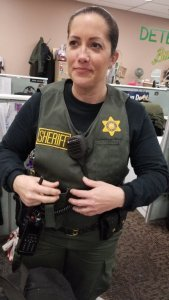 Los Angeles County Sheriff's Department released this photo of Detective Amber Joy Leist on Jan. 12, 2020.