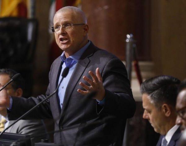 Los Angeles City Councilman Mike Bonin is seen in 2018. (Credit: Genaro Molina / Los Angeles Times)