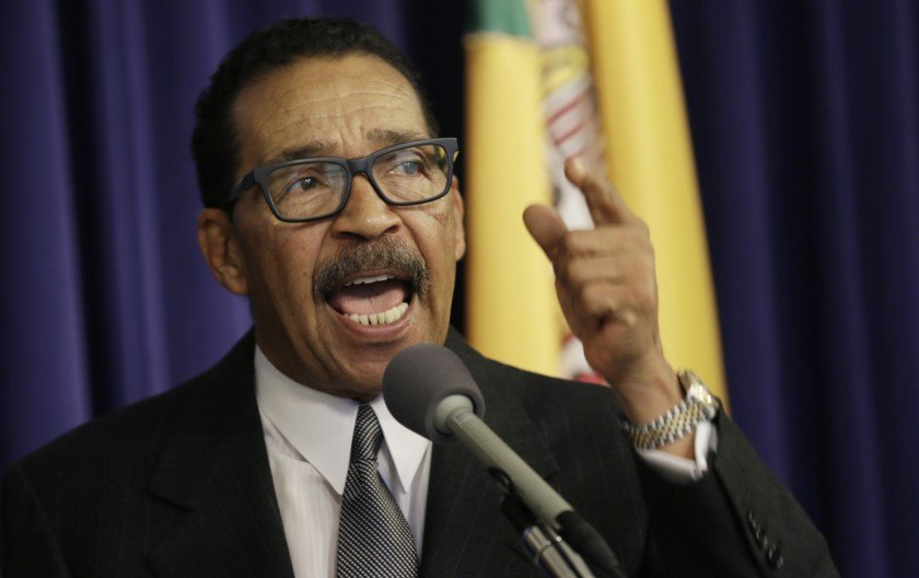 Los Angeles City Council President Herb Wesson speaks in this undated file photo. (Credit: Irfan Khan / Los Angeles Times)