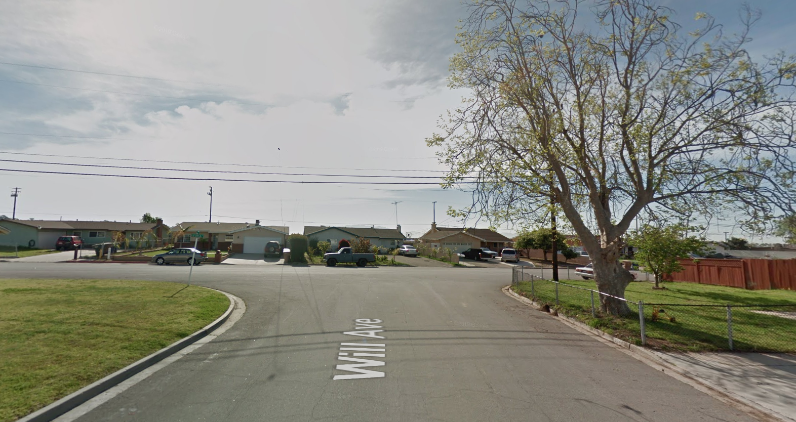A Google Maps image shows Will Avenue and George Street in the unincorporated community of El Rio in Ventura County.