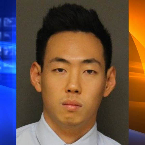 Elijah Kim, 30, of Fullerton, pictured in a photo released by the Fullerton Police Department following his arrest on Jan. 10, 2020.