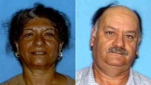 Maria Lopez and Jesus Guillen appear in photos released by the Garden Grove Police Department on Jan. 14, 2020.