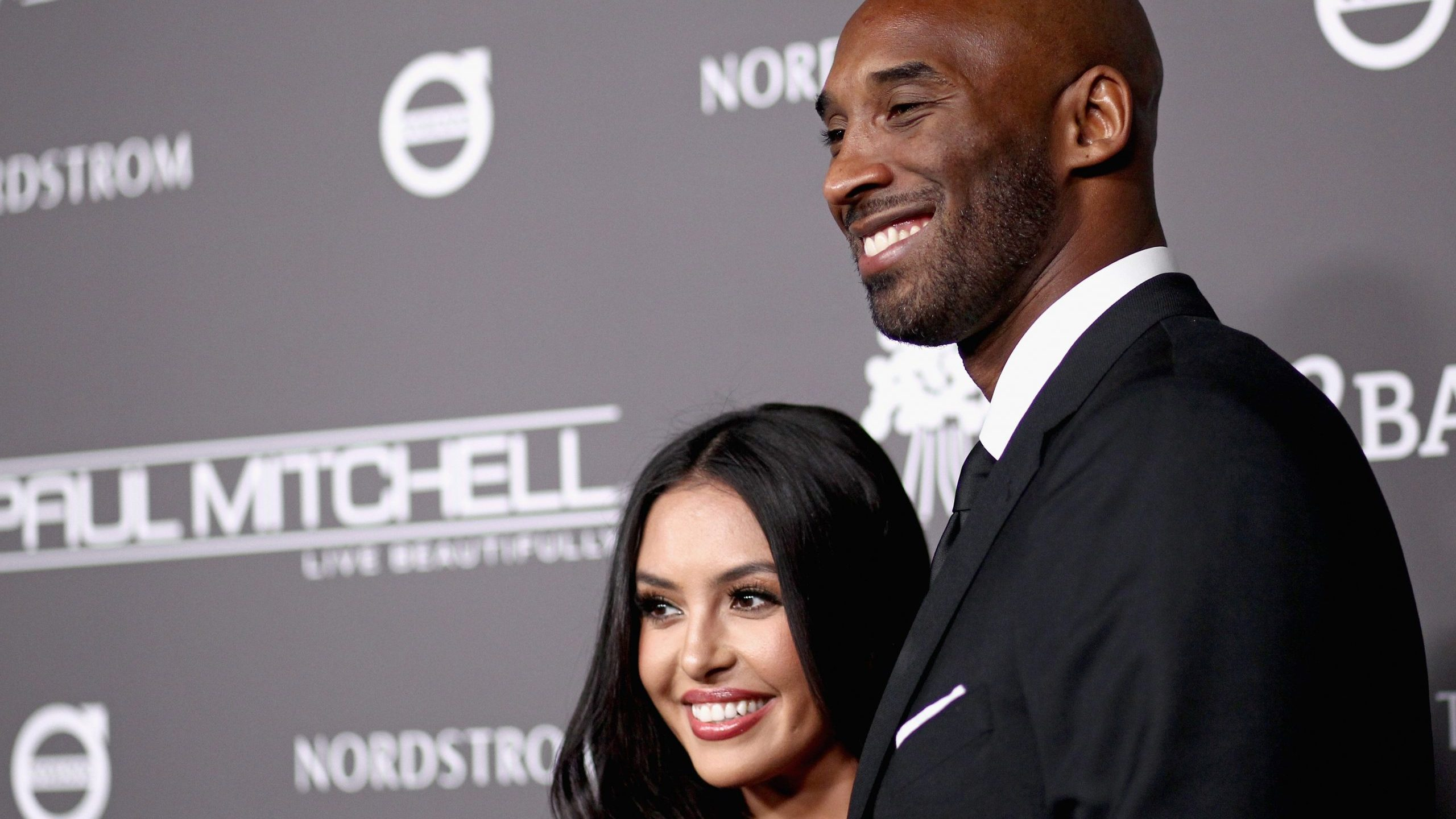 Vanessa and Kobe Bryant attend a gala on Nov. 10, 2018, in Culver City, California. (Credit: Tommaso Boddi/Getty Images for Baby2Baby)