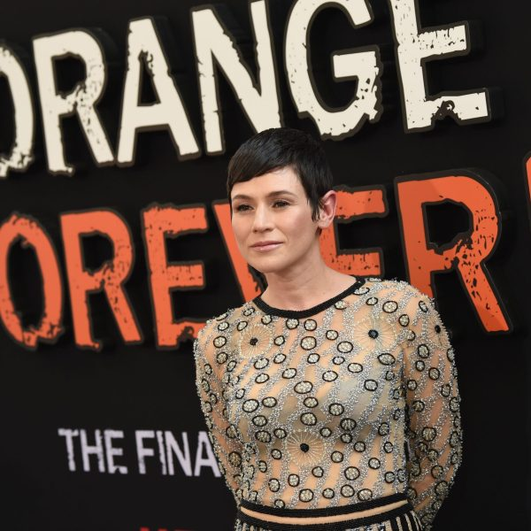 "Yael Stone attends the ""Orange Is the New Black"" final season premiere at Alice Tully Hall, Lincoln Center on July 25, 2019 in New York City. (Credit: Dimitrios Kambouris/Getty Images)"