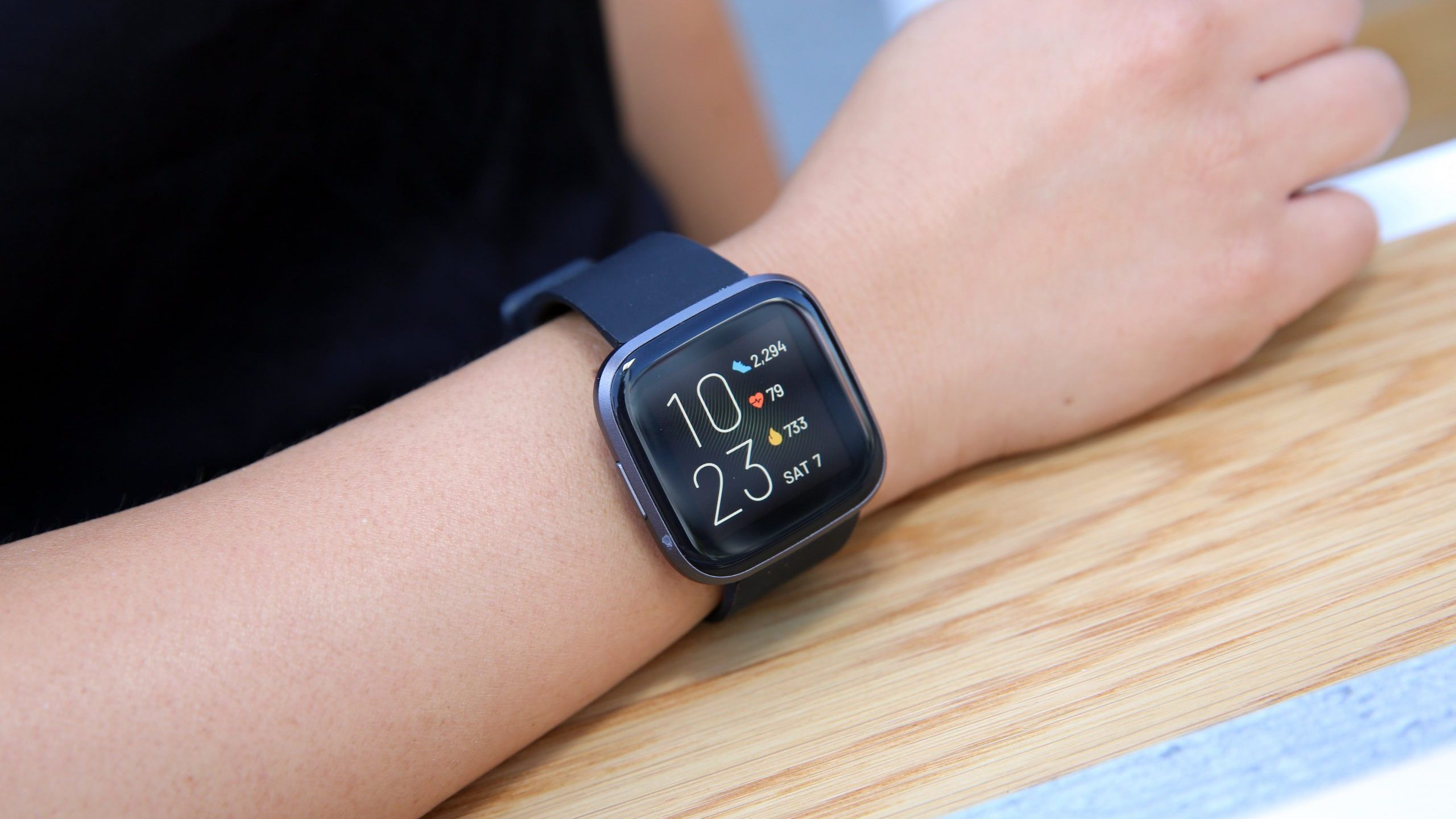 A Fitbit is seen in this file photo. (Credit: Rachel Murray/Getty Images for Fitbit Local)