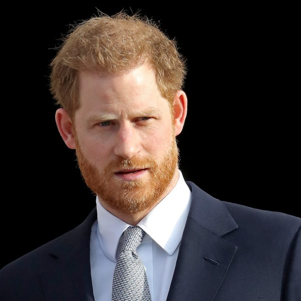 Prince Harry, Duke of Sussex, hosts the Rugby League World Cup 2021 draws for the men's, women's and wheelchair tournaments at Buckingham Palace on Jan. 16, 2020, in London, England. (Credit: Chris Jackson/Getty Images)