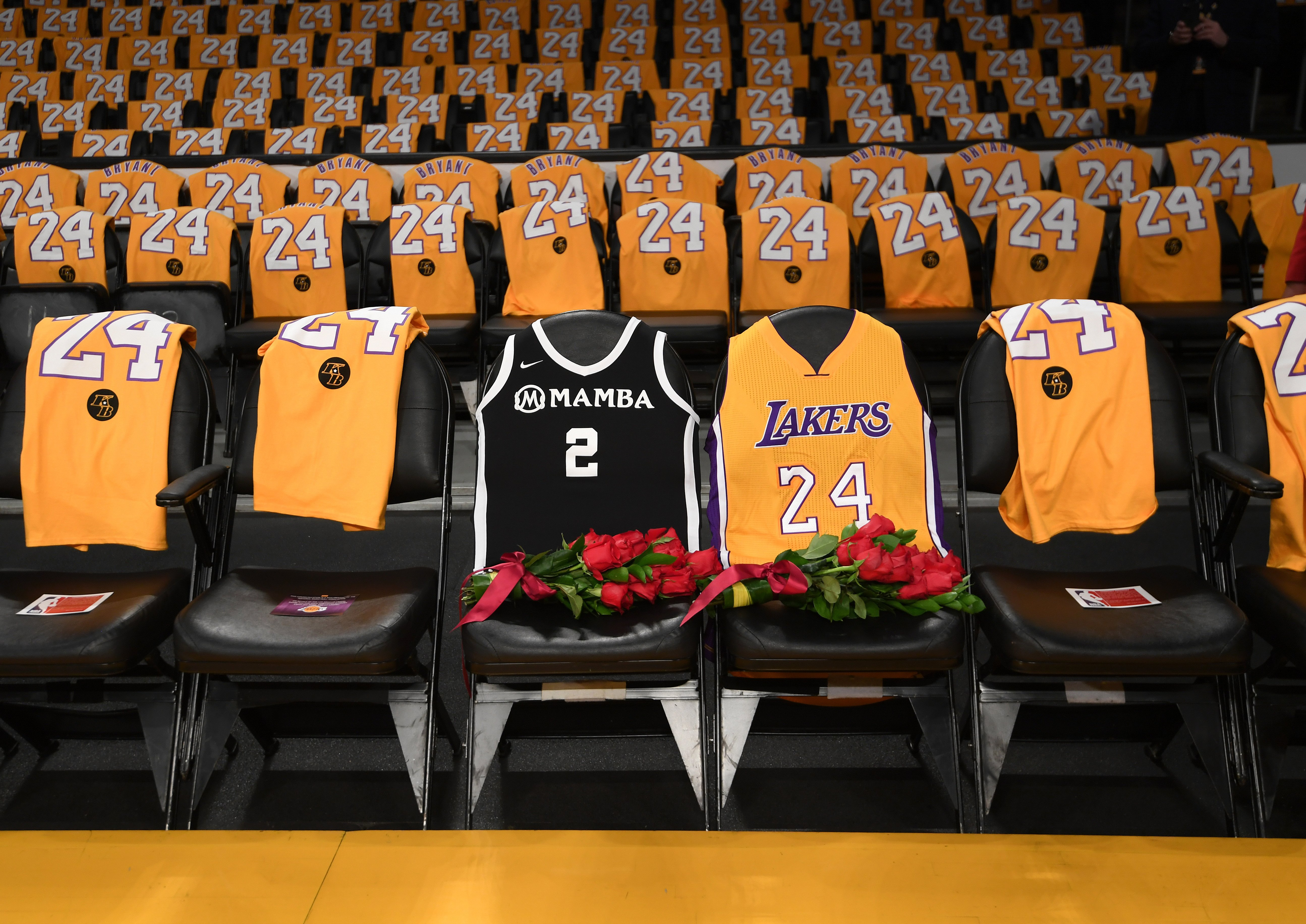 Hurt and Heartbroken': Kobe Honored in Emotional Ceremony at 1st ...