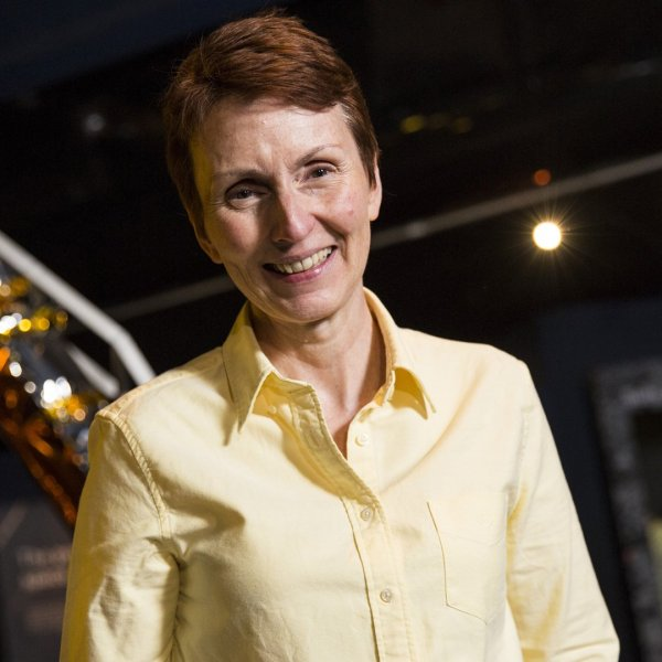 British astronaut Helen Sharman attends an event to mark 25 years since her space mission hosted by the Science Museum on May 20, 2016, in London, England. (Credit: Jack Taylor/Getty Images)