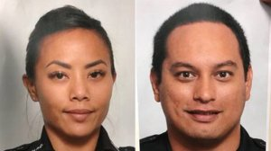 Honolulu Police officers Tiffany Enriquez and Kaulike Kalama were killed in a shooting on Jan. 19, 2020. (Credit: Honolulu Police Department via CNN)