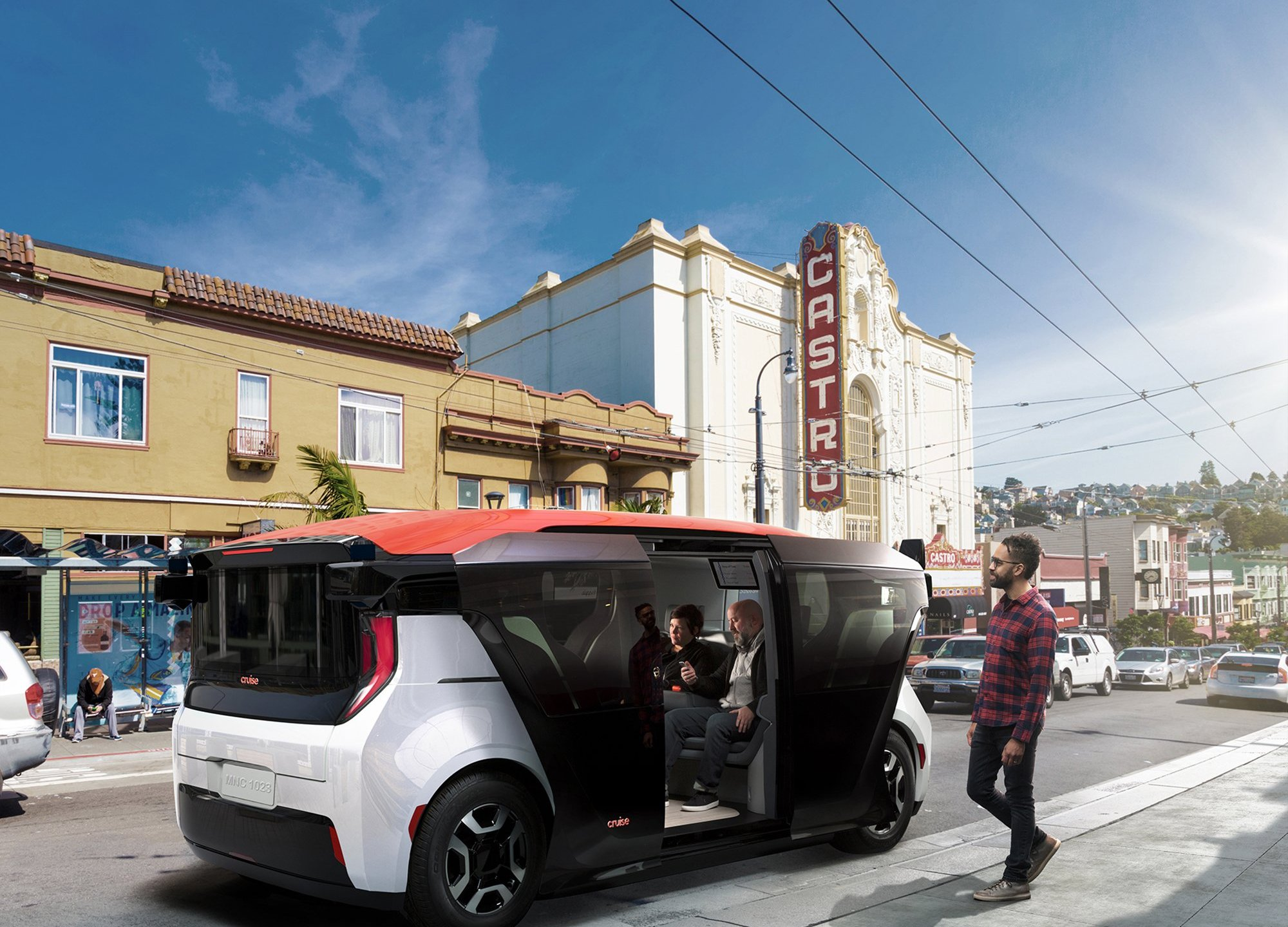 GM and Honda, automakers with more than 160 years of experience between them, have thrown tradition out the window by unveiling the Origin, a new self-driving vehicle. (Credit: Cruise)