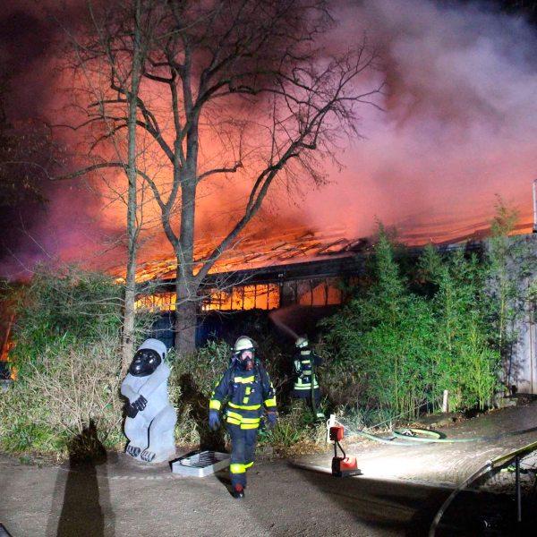 Germany Zoo Fire