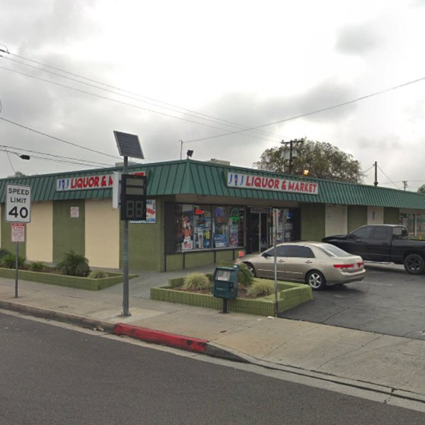 JNJ Liquor in Baldwin Park, as pictured in a Google Street View image.