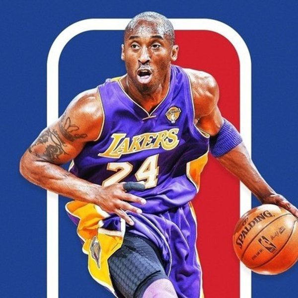 An image from the Change.org petition seeking to immortalize Kobe Bryant on the NBA logo.