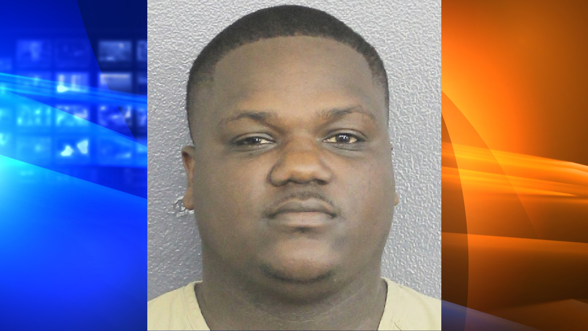 Chauncy Lump is seen in a booking photo released by the Broward County Sheriff's Office.