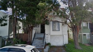 A home on Magnolia Street in West Oakland that is being occupied by the group Moms 4 Housing is seen in a Google Maps Street View image.