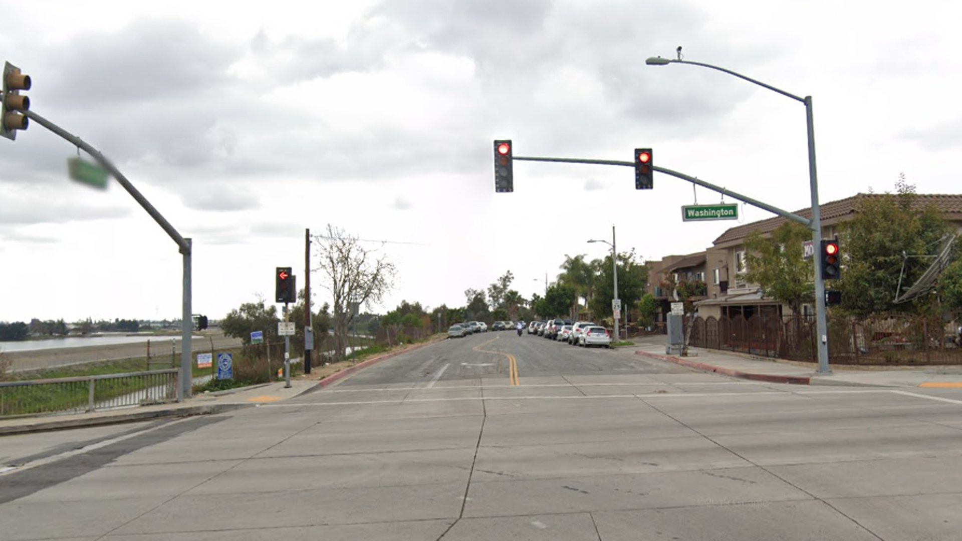 The 1000 block of South Bluff Road in Montebello, as seen in a Google Street View image.