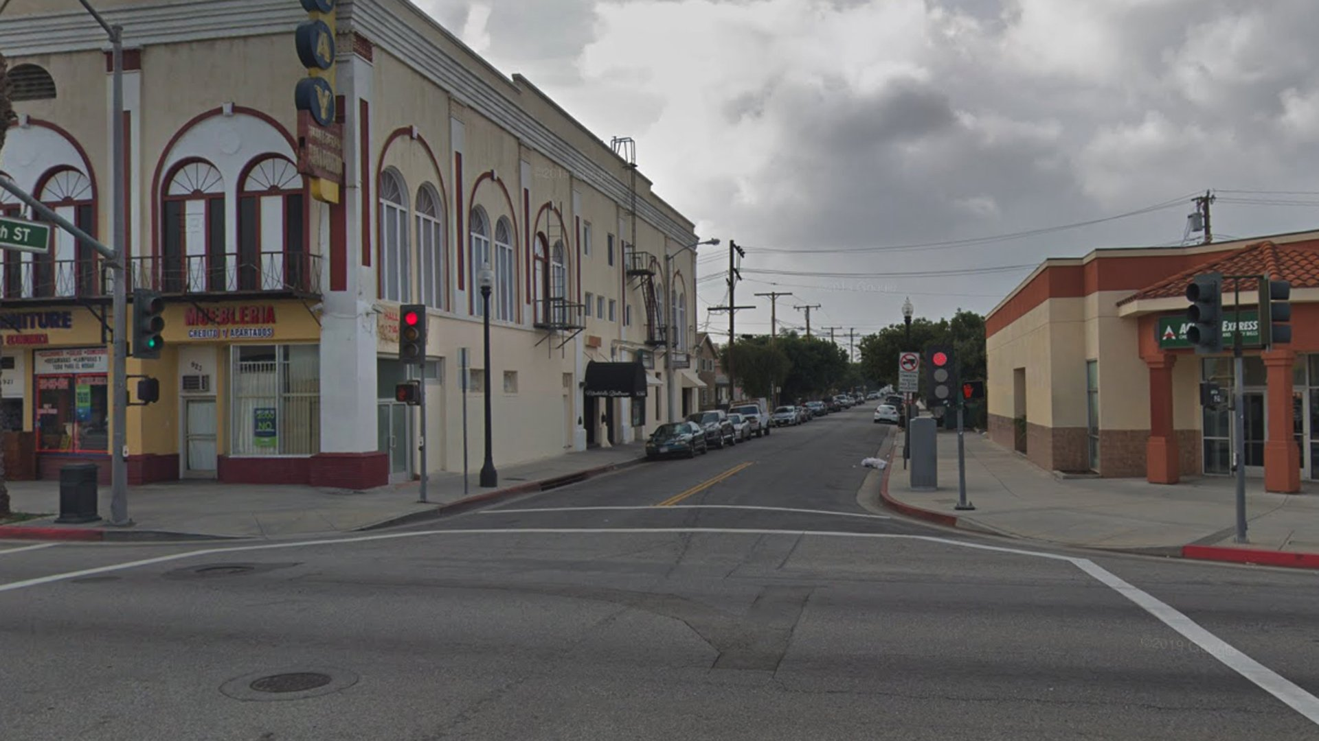 The 100 block of South 10th Street in Montebello, as see in a Google Street View image.