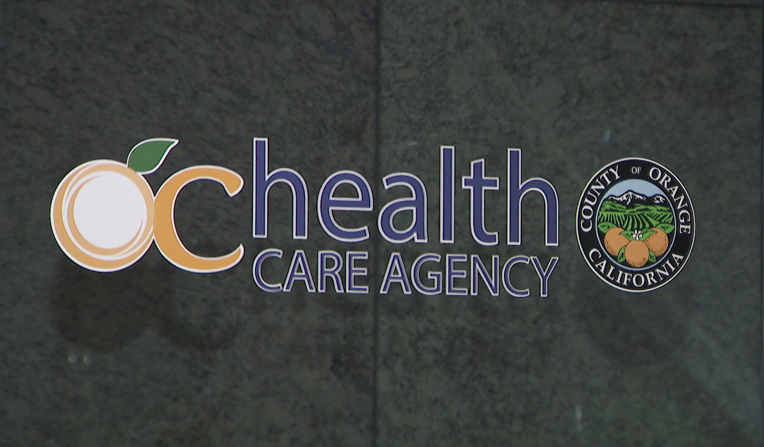 The Orange County Health Care Agency's Santa Ana office is seen on Jan. 26, 2020. (Credit: KTLA)