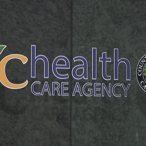 The Orange County Health Care Agency's Santa Ana office is seen on Jan. 26, 2020. (Credit: KTLA)