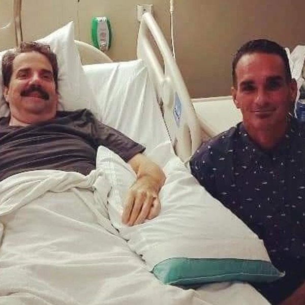 Tom Sovilla, left, and Jack Keith, right, are seen in a photo posted to a GoFundMe account.