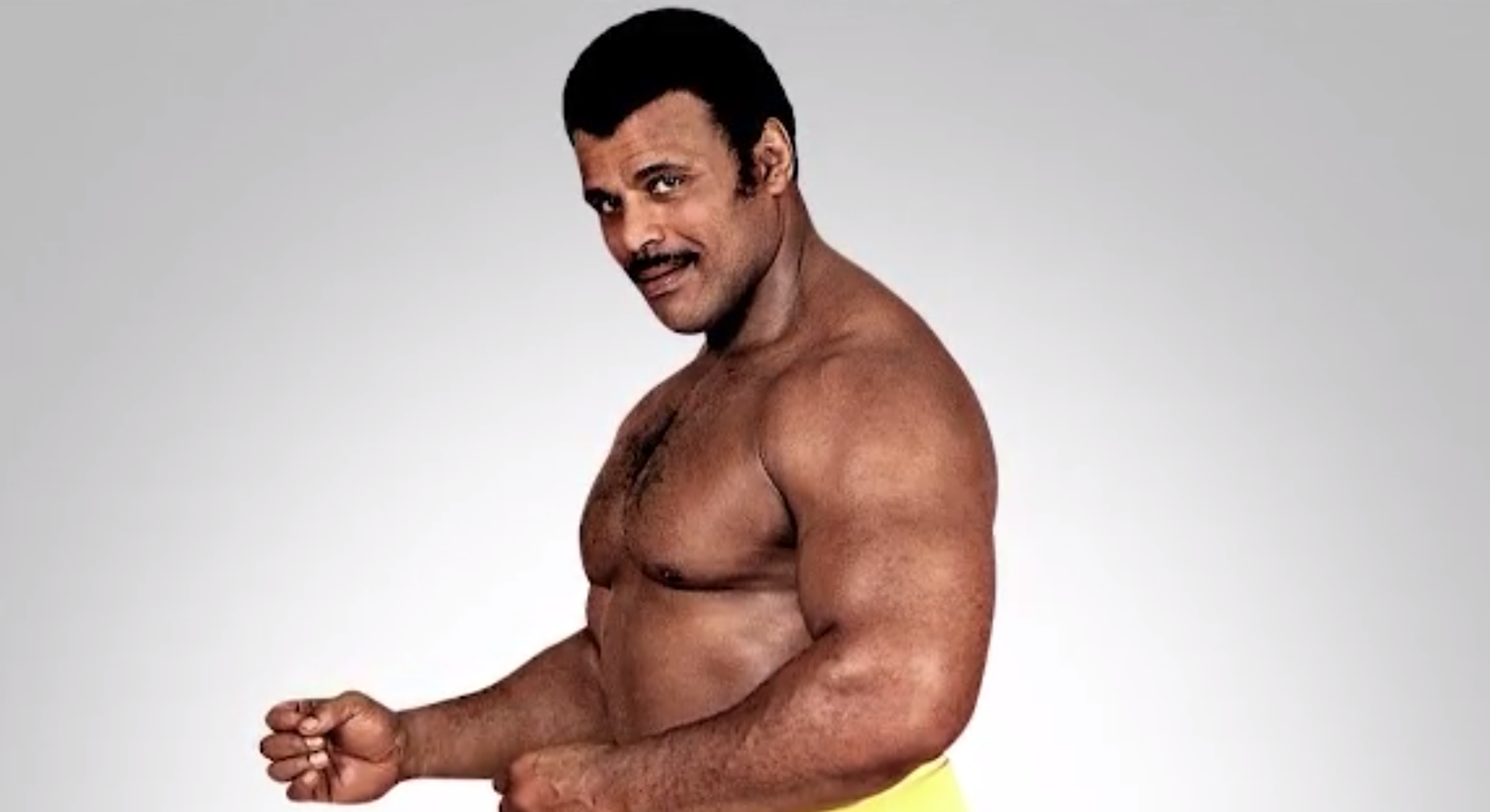 Rocky Johnson is seen in an undated photo. (Credit: WWE via CNN)