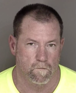 Charles Kenneth Lafferty, 52, is seen in an undated booking photo. (Credit: Monterey County Sheriff's Department via CNN)