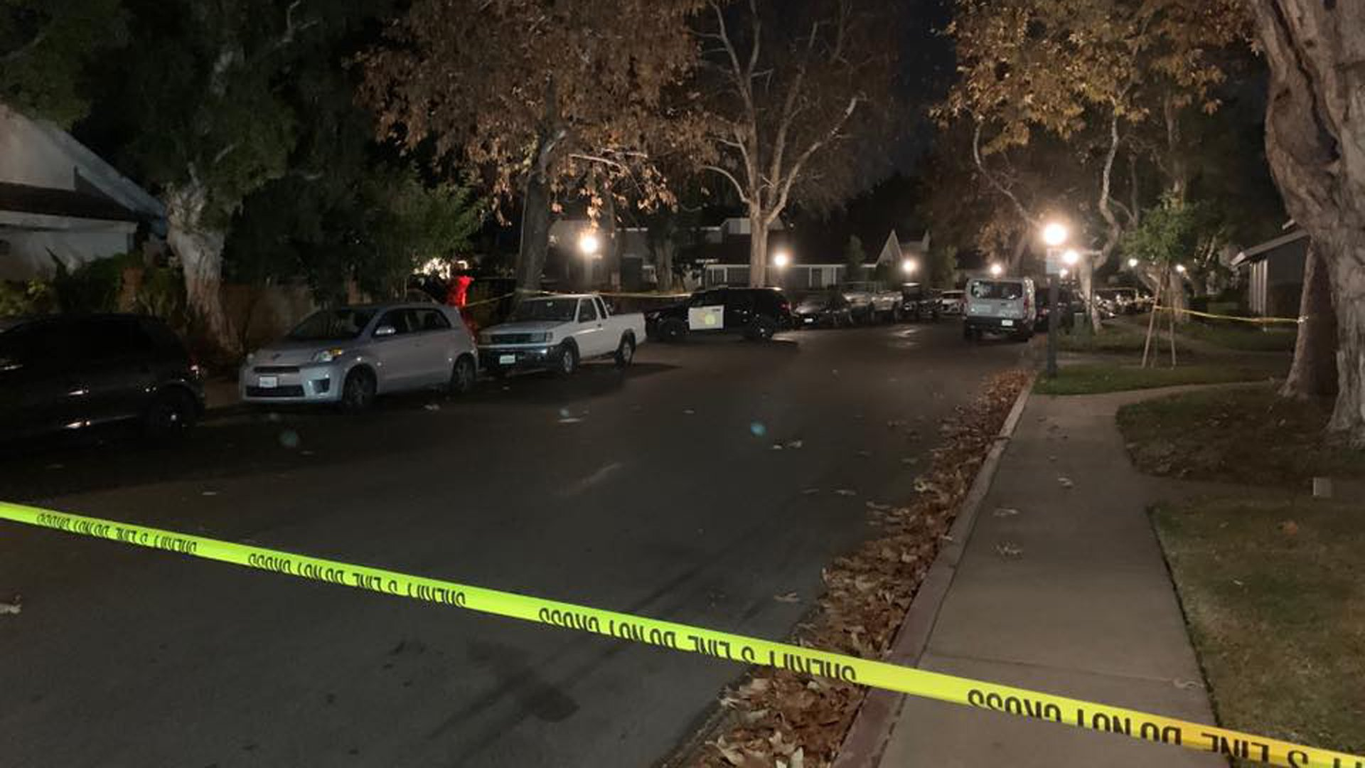 The Orange County Sheriff's Department released this photo of the street in San Juan Capistrano where a woman was found stabbed to death inside a home on Jan. 14, 2020.