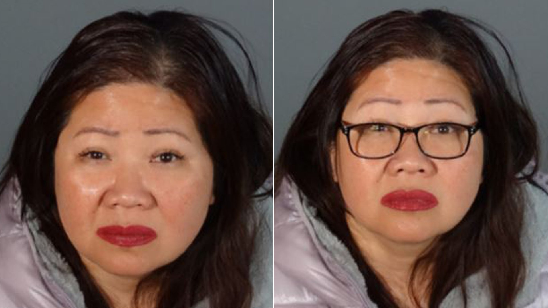 Sheila Paguirigan Solis is shown in booking photos released by the Los Angeles County Sheriff's Department on Jan. 22, 2020.