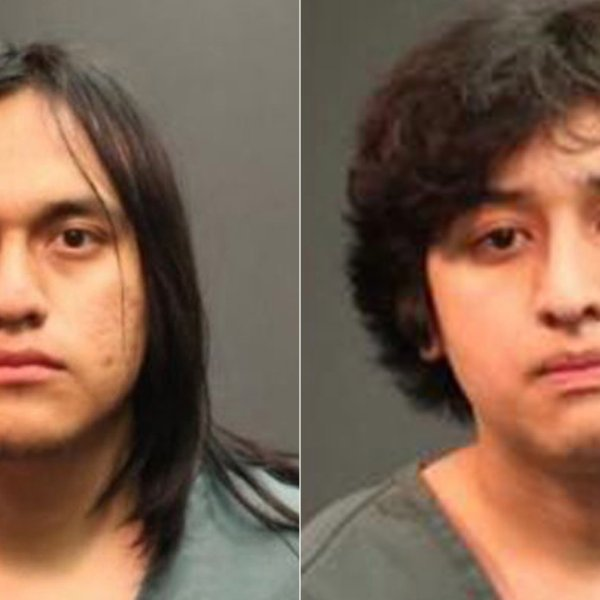 From left to right, Isai Higinio Hernandez and Jason Rabadan appear in photos released by the Santa Ana Police Department on Jan. 31, 2020.