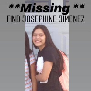 Josephine Jimenez is seen in a missing person's flyer obtained by KGPE.
