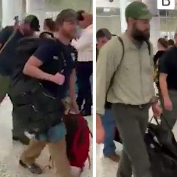 U.S. firefighters arrive in Australia. (Credit: Shane Fitzsimmons via CNN)