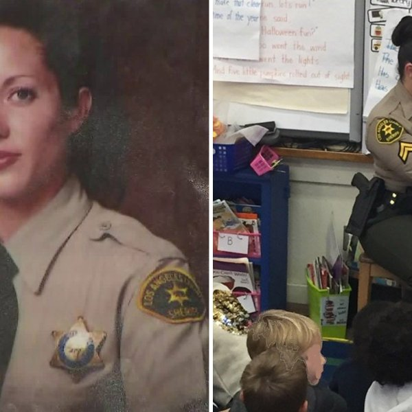 Los Angeles County Sheriff's Department Detective Amber Joy Leist, pictured in undated photos provided by the sheriff's department.