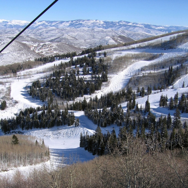 A general view of Park City Mountain Resort in Utah is seen in this photo from Jan. 18, 2007. (Credit: Trixie Textor/Getty Images)