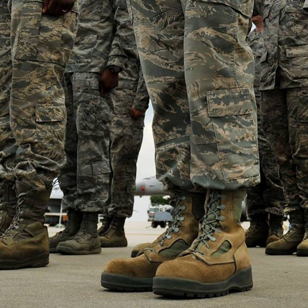Soldiers are seen in this undated file photo. (Credit: U.S. Air Force)