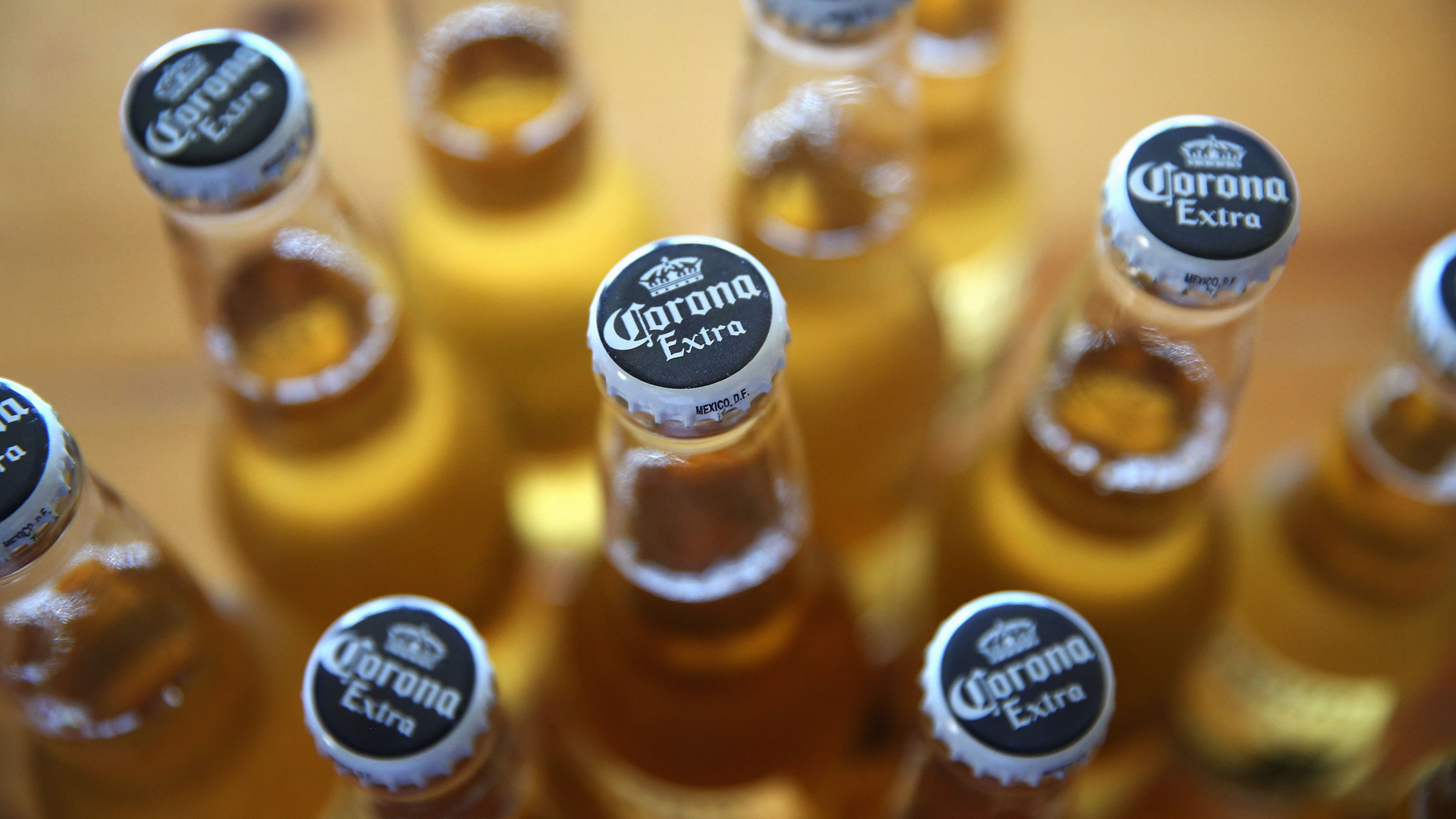 In this photo illustration, bottles of Corona beer are shown on June 7, 2013, in Chicago. (Scott Olson/Getty Images)