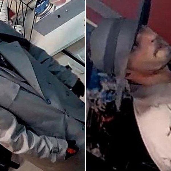 Authorities are seeking the man pictured in these surveillance photos in connection with a burglary at the Buena Park American Little League Field concession stand on Jan 30, 2020. (Credit: Buena Park Police Department)