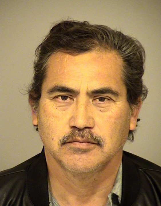 David Perez, 60, a bus driver for the Pleasant Valley School District, pictured in a photo released by the Ventura County Sheriff's Office following his arrest on Feb. 10, 2020.
