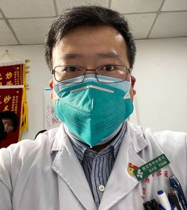 "Li Wenliang, a doctor in Wuhan, was punished by police for ""spreading rumors"" over a message warning people against the coronavirus. (Credit: Li Wenliang via CNN Wire)"