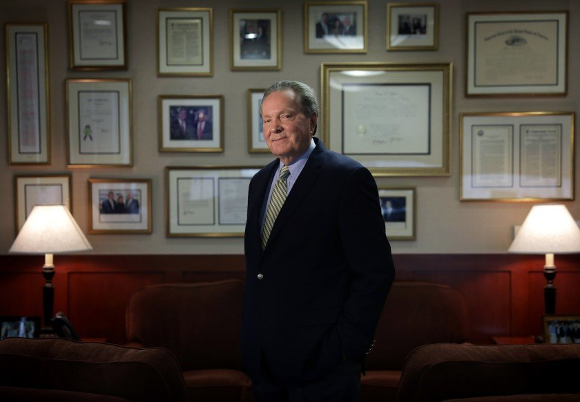 """""""Trump has effectively flipped the circuit,"""" said 9th Circuit Judge Milan D. Smith Jr., an appointee of President George W. Bush. (Credit: Christina House / Los Angeles Times)"""