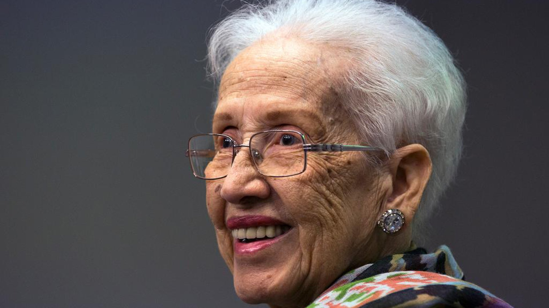 Katherine Johnson is seen in an undated photo provided by NASA.