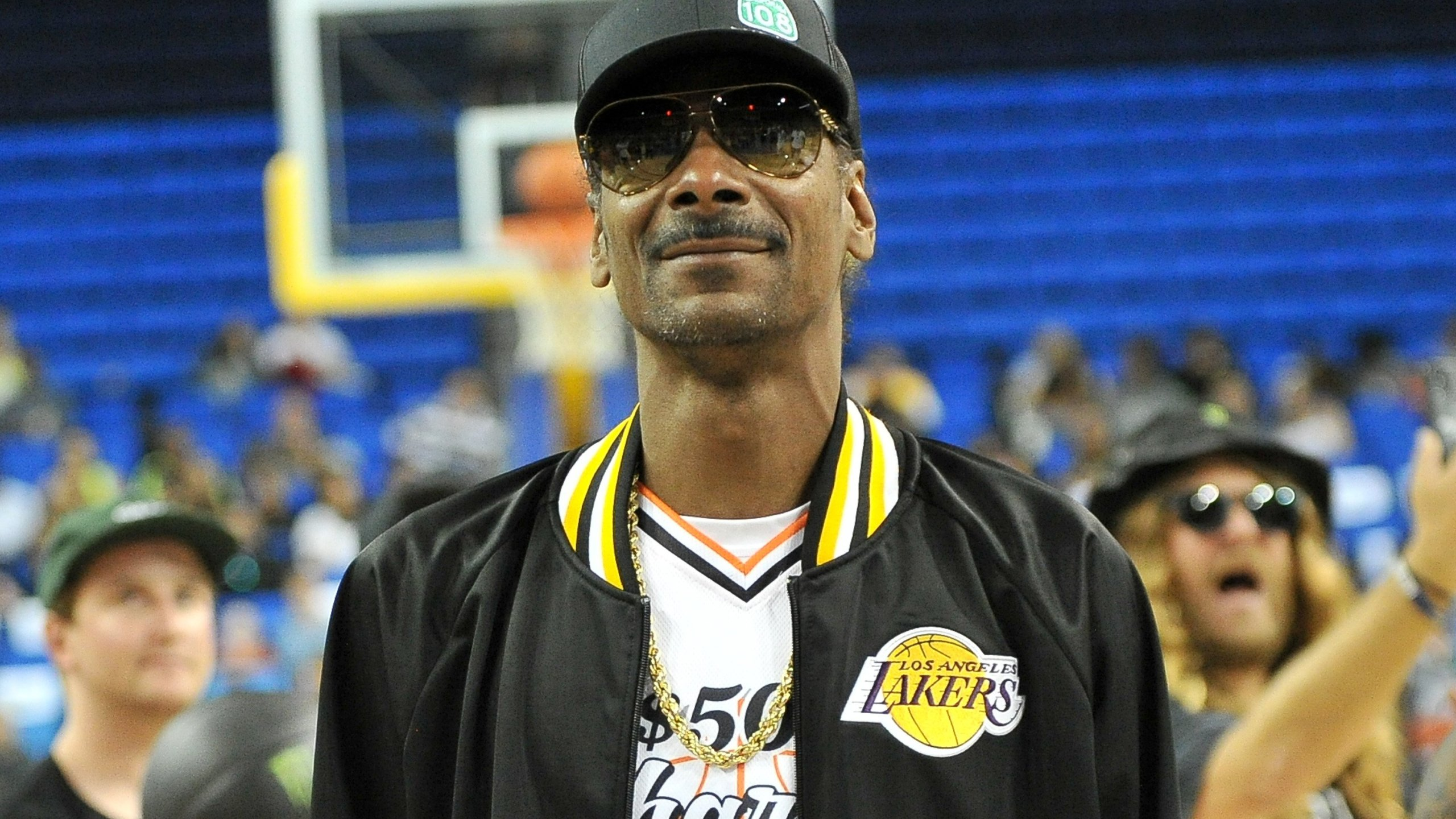 Snoop Dogg attends the Monster Energy $50K Charity Challenge Celebrity Basketball Game at UCLA's Pauley Pavilion on July 8, 2019, in Westwood, California. (Credit: Allen Berezovsky/Getty Images)